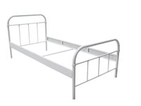Wholesale iron bed design simple Paint tube bed please talk with customer service yeezy