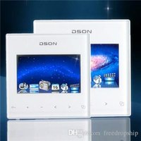 Wholesale 3 Inch Wall Music Player TFT Touch Screen Digital Stereo Amplifier In Wall Integrated Room Music Controller DS
