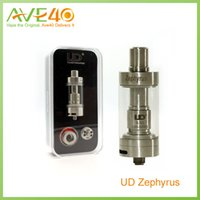 5ml Metal Youde 100% Genuine YouDe Zephyrus Tank UD Sub Ohm OCC Head Tank Atomizer UD Zephyrus fit Kanger Subox Nano VS Goblin Mini Atomizer Tank