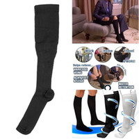 Wholesale New Health Care Comfortable Relief Soft Unisex Miracle Socks Anti Fatigue Compression Recovery compression socks running Dress Calf Socks