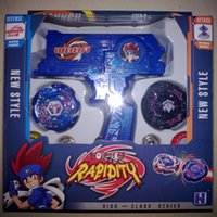 Wholesale Spinning Top New Plastic Beyblade Spinning Tops Gyro Set beyblade Metal Fusion Beyblade Spinning top