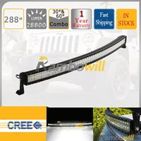 lens for cree led - CREE W Curved Led Work Lamp Bar Flood Spot Combo Beam Toughed glass Lens SUV ATV WD X4 Boat Yacht Offroad Driving Head Light For Jeep