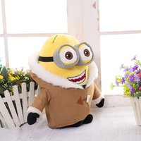 Wholesale 20cm Minons Plush Toys Despicable me Minion Stuffed Brinquedos Yellow men Children Birthday Gift Kids Juguetes dolls