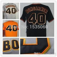 baseball direct - 2015 New Madison Bumgarner jersey Men Stitched custom San Francisco Giants baseball jerseys buy direct from china orange