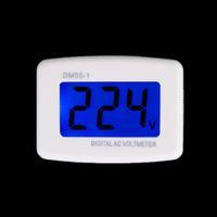 Wholesale Electrical Instruments DM55 AC V LCD Digital Volt Meter Voltmeter US Plug Electric Pen Voltage Testers Brand New