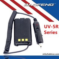 band shipping chargers - Battery Car Charger Car Battery Eliminator for BAOFENG UV R UV5R Dual Band Two Way Radio Walkie Talkie