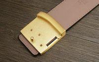 Wholesale GG belt The new high end business men s leather belt buckle belt leisure joker automatically