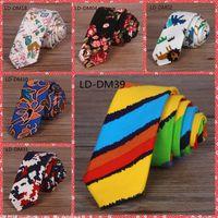 animal print neckties - 40 Colors Available Fomal Men s Business tie Cotton Men s Necktie Plaid Stripe Arrow Type Narrow Weave Groom Necktie cm