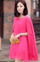 korean maternity dress - Korean New Women s chiffon dress summer charming apparel maternity clothing colors Fast Fast Shipping for pregnant dress D922