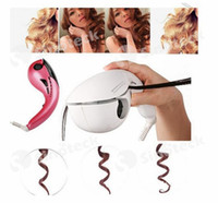 Wholesale Mini Automatic Curlers Pro Curling Irons Type Curling Device New Brand Hair Care Tool Mini Curling Irons Plug EU UK AU UA Free DHL