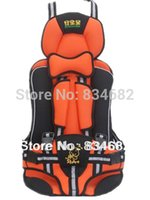 Wholesale Baby Car Seat Child Car Safety Seat Safety Car Seat for Baby of KG and Months Years Old Orange Color Lowest Price