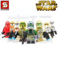 star wars - 2015 New Model SY265 Star Wars Emperor s Royal Guard Building Blocks Sets Education Toys Compatible With figure