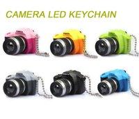 Precio de Anillo de luz led de la cámara-Flash de la cámara de luz LED llavero con el obturador de sonido SLR llavero anillo de juguete colgante regalo de la diversión Promoción Interesante Navidad de los niños