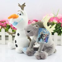 big g toys - Newest CM Olaf CM Sven Cartoon Movie Frozen Olaf and Sven snowman Milu deer Kristoff friend Sven Plush toy stuffed doll for kids g