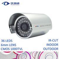 surveillance camera - Security Camera CMOS TVL HD CCTV Camera Waterproof Night Vision Infrared IR Bullet DVR Inspect Video Surveillance Camera System W08