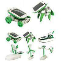 Wholesale New Solar Power Toy DIY Educational Robot in Kit Car Boat Dog Fan Plane For Chidren Kids