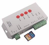 Wholesale New version T S SD card led pixel controller ws2812rgb controller P9813 SM16715 TLS3002 BS015 DC5V DC7 V
