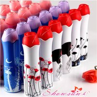 beach umbrella best - Creative Rose Vase Umbrella Three Folding Craft Beach Umbrella Best Gift For Staff