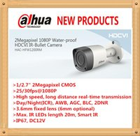 Wholesale DAHUA MP P IR Waterproof HDCVI Bullet Camera with Metal Housing with Fixed Lens HAC HFW1200RM