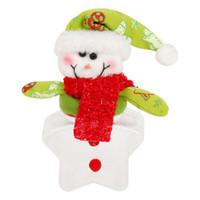 christmas items - Christmas Candy Jar Christmas Sugar Bowl Star Shape Santa Claus Gift Christmas Item Christmas Decoration Creative Santa Claus party decorati