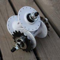 Wholesale Fixedgear hubs aluminum alloy dual flywheel t