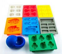 Wholesale Kids Toys Star Wars Sets Of Silicone Mold Ice Lattice Mold Chocolate Mould Cake Decorating Tools IT019