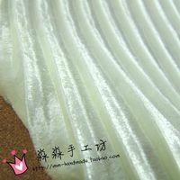 Wholesale White lady m sense organ plait hundred fold pleuche Pleated dress textile fabrics