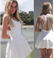 Cheap European high-end sexy fashion women's clothing Fashion backless dress of Europe and America