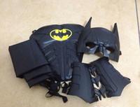 Wholesale Batman cosplay Costume Dark Knight Collector Custom Full Set New Cosplay Superman Batman Halloween costumes for kids0