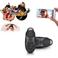 Wholesale Selfie Remote Control Shutter Bluetooth Gamepad Wireless Mouse F IOS Android PC EGS_208