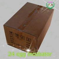 Wholesale Good quaility electric mini automatic mini egg incubator poultry brooder chicken hatcher JANOEL24 with CE