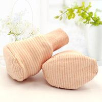 baby foot protection - Beibei infant newborn baby organic cotton foot protection gloves color socks DA201