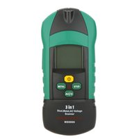Wholesale MS6906 in Multi function MASTECH Stud Metal AC Voltage Scanner Detector Thickness Gauge w NCV Meter Tester