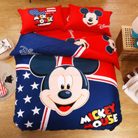 baby comforter sets - Mickey Mouse Baby Bedding Sets Bedding And Comforters Cheap Quilts Sets Twin Full Queeen King Size