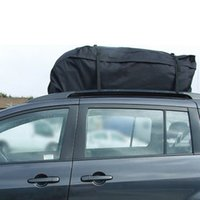 Wholesale Universal Car Roof Top Bag Rack Cargo Carrier Luggage Storage Travel Waterproof Touring SUV Van order lt no track