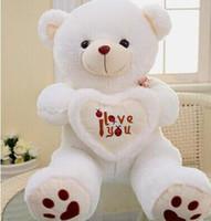 big bear plush valentine - Beige Giant Big Plush Teddy Bear Soft Gift for Valentine Day Birthday KD11