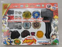 best beyblade tip - piece new the constellations Beyblade set spin top toy double laucher beyblade metal tips best toy for children
