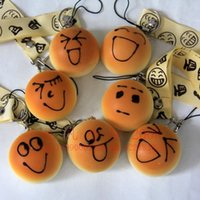 Others Others  Wholesale-promotion New face bread (4cm) squishy charm   mobile phone strap Pendant   Wholesale JC27