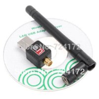 b w laptop - New Mini USB Mbps Wireless WiFi Network Card n g b LAN Adapter w Antenna