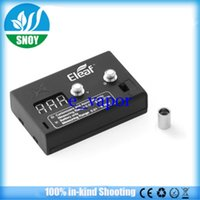 Wholesale 2015 Authentic eleaf ohm meter Digital ismoka Ohmmeter Voltmeter volt tester ohm Meter resistance on istick w battery mod aspire atlantis