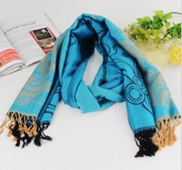 cotton shawls and scarves - 2015 New Exports of dual use new retro cotton shawl fall and winter West cotton scarf fashion women scarf shawl