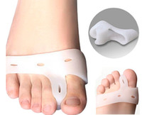 silicone insole foot care - Silicone Gel foot fingers Toe Separator thumb valgus protector Bunion adjuster Hallux Valgus Guard feet care