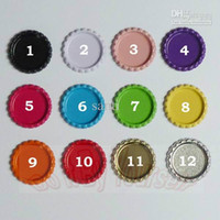 Wholesale Flat Both side Colored Bottle Caps For Hairbow Making