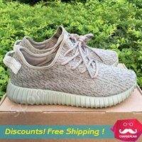 steve madden - Sports Shoes yzy Moonrock Black Grey Yeezy Boost Running Shoes Trainers Shoes Kanye West shoes Mens Sneakers Accepted mixed order