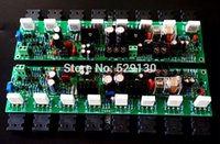 accuphase amplifier - New accuphase mono amplifier accuphase E405 pure DC amplifier board protect the two channels speaker amplifier mirror design