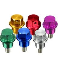 Wholesale M14x1 Magnetic Oil Pan Drain Bolt Plug For Honda for Acura Mazda for Mitsubishi Suzuki order lt no track