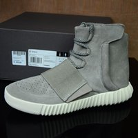 cowboy boots - Yeezy Boost Head layer matte leather Training Boots Shoes running shoes Streetwear Running Sports Shoes men and women Fashion boots