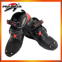 Wholesale 2015 new models men motorcycle boots Motocross Boots Pro Biker Racing motorbike Boot BLACK SIZE
