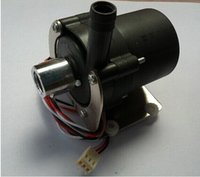 Cheap Free shipping 1x DC 12V pump water cooler motors Brushless with alloy holder speed line
