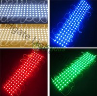 Wholesale 1000 IP65 Led Modules DC V SMD Leds Sign SMD LED Modules Waterproof Led Backlights For Channel Letters Warm Cool White Red Blue